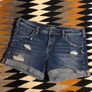 Silver Sam Jean shorts size 30